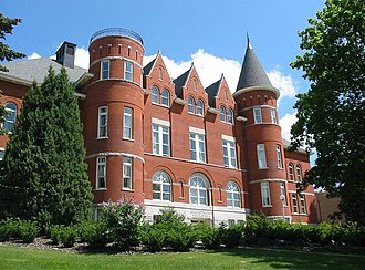 Washington State University - Thompson Hall (1894), known as the Administration Building until renamed in 1972