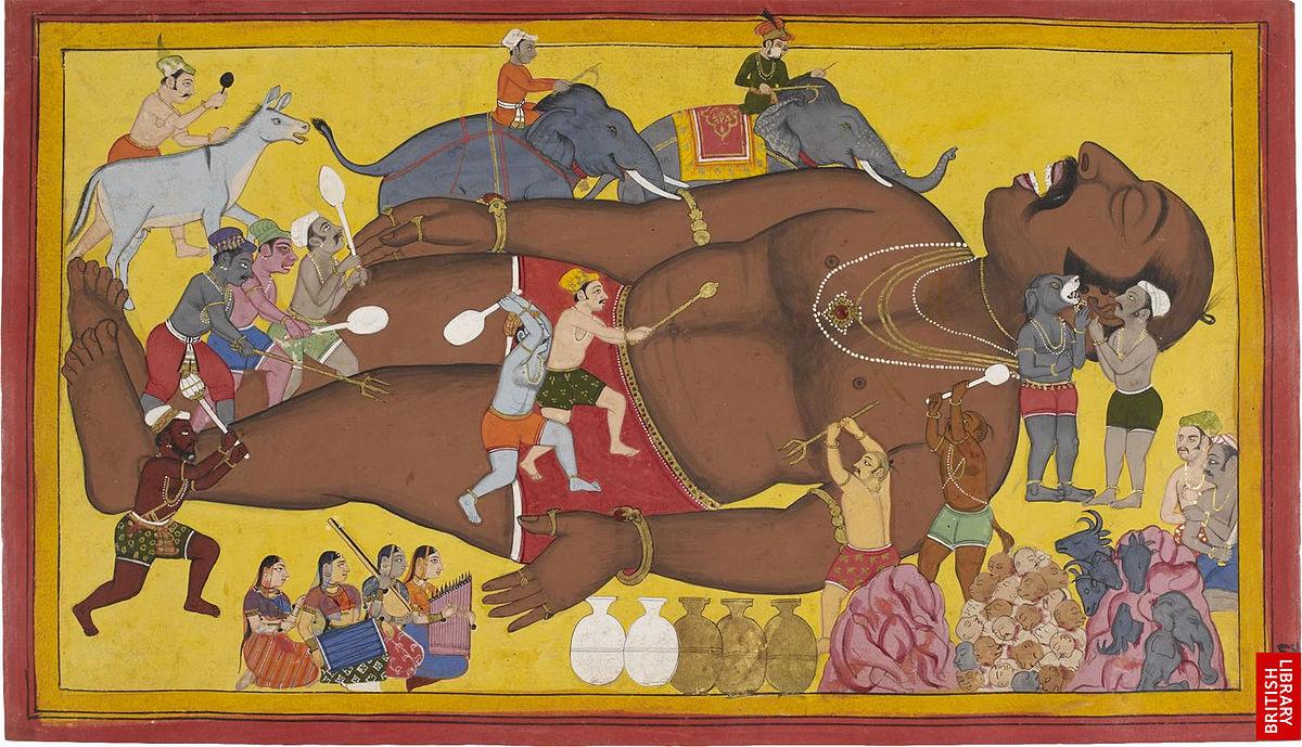 கும்பகருணன் - தமிழ் விக்கிப்பீடியா
