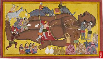 Kumbhakarna - Waking up Kumbhakarna