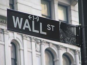 Wall Street Sign. Author: Ramy Majouji