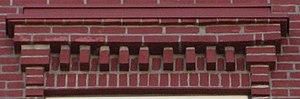 Waller Hall - Brick dentils