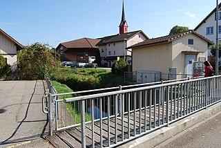 Waltenschwil Municipality in Switzerland in Aargau