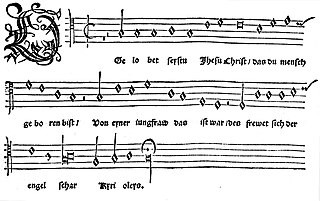 Gelobet seist du, Jesu Christ Christmas carol by Martin Luther
