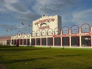 former stadium in Walthamstow, East London