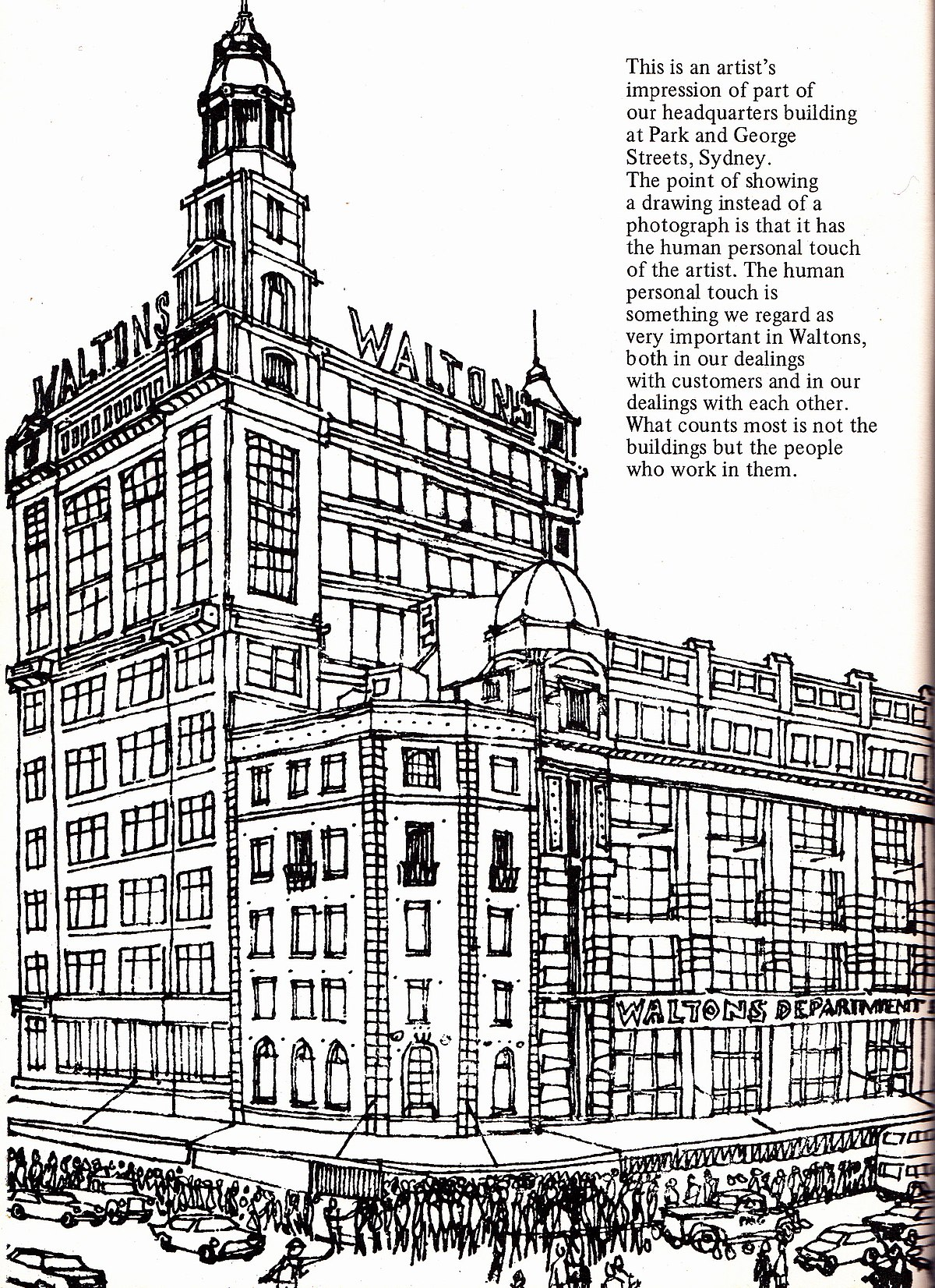 Town And Country Insurance >> Waltons (department store) - Wikipedia