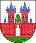Das Wappen von Nienburg (Saale)