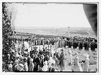 War cemetery ceremony LOC matpc.08257.jpg