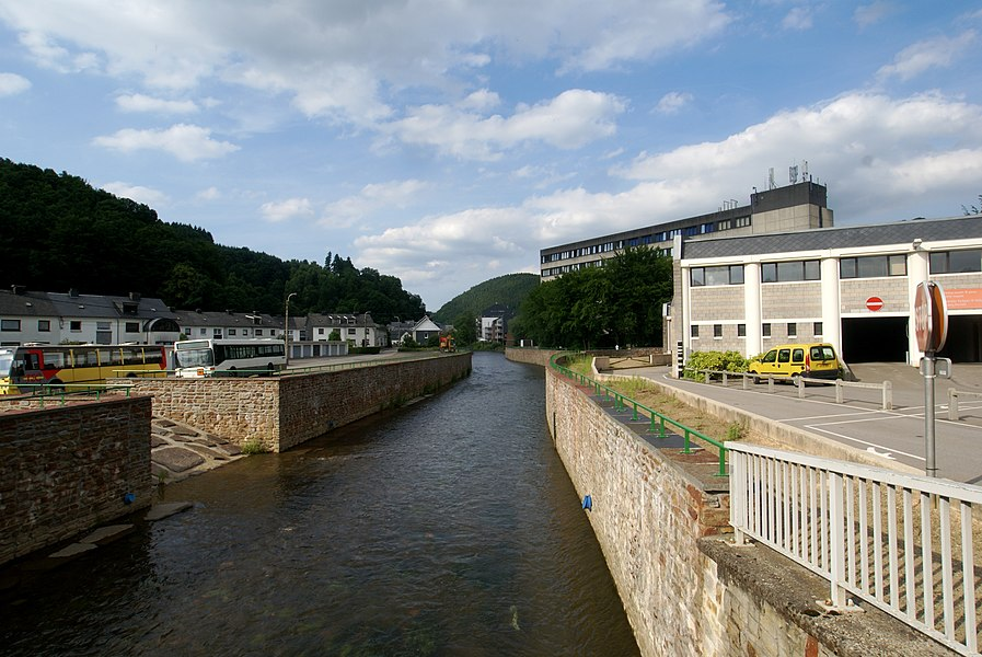 Malmedy (Belgium): The Warche River