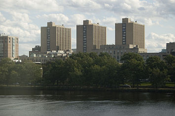 Warren Towers Rises Over The Charles River. Part 65