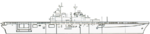 Wasp class amphibious assault ship line drawing 1995.png