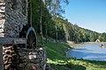 Water wheel near unidentified lake 20160807.jpg