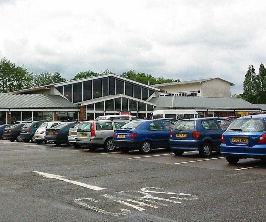 Watford gap service station