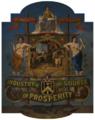 Waudby (1869) Operative Bricklayers' Society emblem.png
