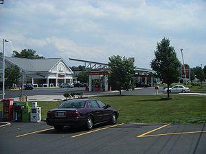 Wawa Inc. - A typical Super-Wawa gas station in Horsham, Pennsylvania