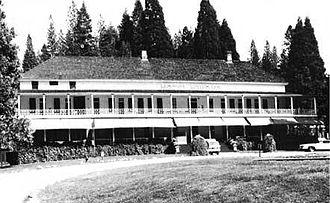 Wawona Hotel - Wawona Hotel in 1985