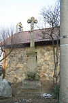 Wayside cross in Mohelno, Třebíč District.JPG