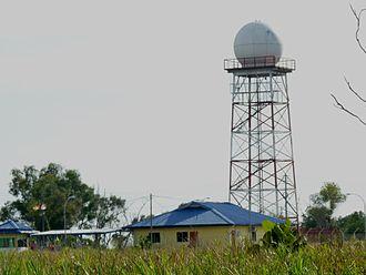 Malaysian Meteorological Department - Weather radar at Miri, Sarawak