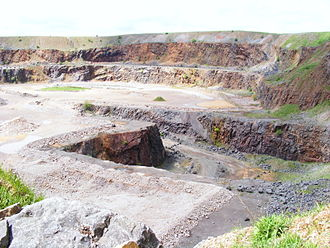 Weaver Hills - Wardlow Quarry.