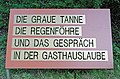Weg in Loosdorf 356 Tafel 03 in A-2133 Loosdorf.jpg