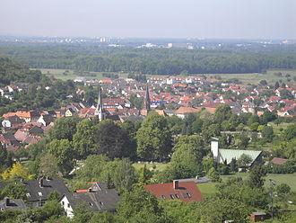 Weingarten (Baden) - Image: Weingarten Baden