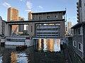 Weir on the Sumida River at Minamitaka Bridge.jpg
