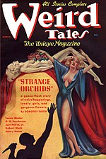 Weird Tales cover image for March 1937