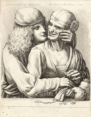 Wenceslas Hollar - Youth caressing a woman.jpg