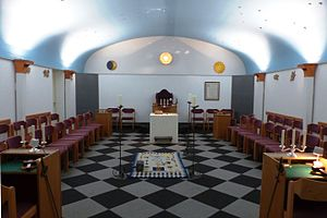 Masonic lodge - Freemasons lodge