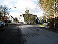 Werl, Budberg, Ortsdurchfahrt in der Nähe der Kapelle.JPG