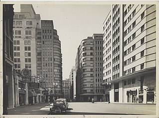 Vista parcial das ruas Dom José Gaspar e Marconi. São Paulo/SP