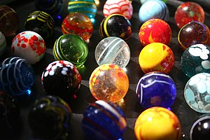 National Toy Hall of Fame - Hand-made marbles from West Africa