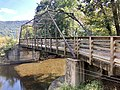 West Fork Pigeon River Pratt Truss Bridge, Bethel, NC.jpg