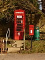 West Knighton, postbox No. DT2 23 and phone - geograph.org.uk - 1707681.jpg
