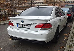BMW 7 Series (E65) - Alpina B7 (post-facelift)