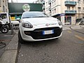 White Fiat Punto Evo in Milan, Italy 03.jpg