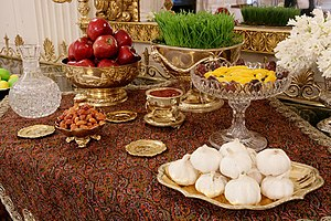 Tajiks - Tajiks Celebrate Nawrooz in Afghanistan. Haft-Seen, White House ceremony for new Persian Year, prepared by Laura Bush.