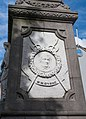 Wicklow Billy Byrne Monument Plinth South Face Relief of William Michael Byrne II 2016 09 16.jpg
