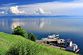 Widok z Listwianki na jezioro Bajkał 18.JPG