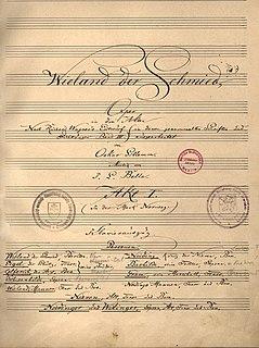 <i>Wieland der Schmied</i> (opera)