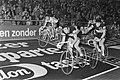 Wielerzesdaagse gestart in Ahoyhal, Rotterdam het koppel Merckx en Sercu, Bestanddeelnr 928-3758.jpg