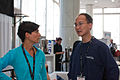 Wikimania 2009 - Rut and Eugene.jpg