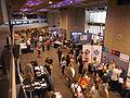 Wikimania 2014 communities village at 13-10 on Friday 01.jpg