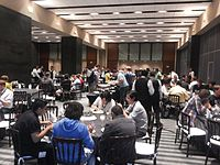 Wikimania 2015-Wednesday-Lunchtime (1).jpg