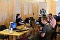 Wikimedia Hackathon Vienna 2017-05-20 Mentoring Area 05.jpg