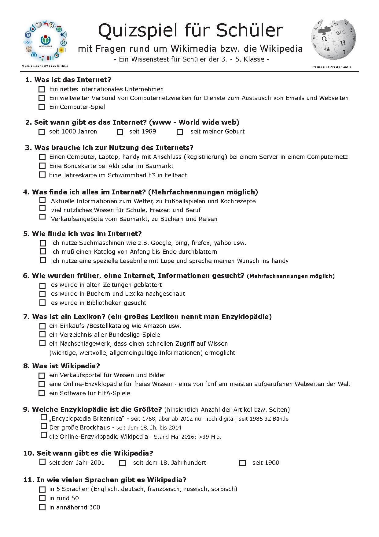 Filewikipedia Quiz Schüler Grundschule 2016pdf Wikimedia Commons