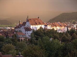 Wil City in St. Gallen, Switzerland