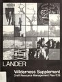 Wilderness supplement to the draft resource management plan-environmental impact statement for the Lander Resource Area, Lander, Wyoming (IA wildernesssupple07unit).pdf