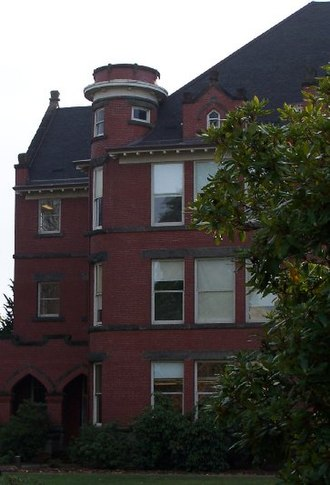 Eaton Hall (Oregon) - Image: Willamette University Eaton Hall