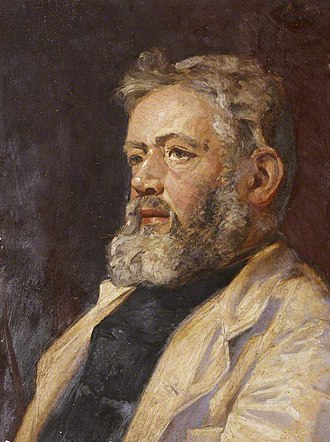 W. G. Collingwood - Self portrait as Sea Captain