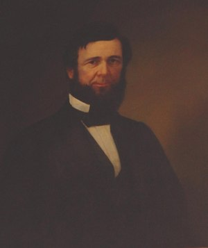 William Medill - Portrait by John Henry Witt